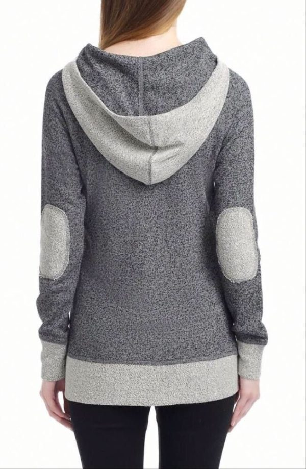 Warm all the time grey hoodie
