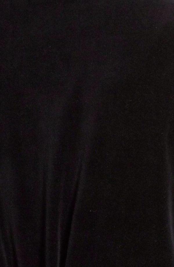 Swag long black hoodie
