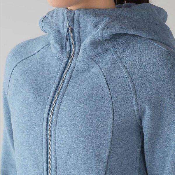 The blue gym hoodie