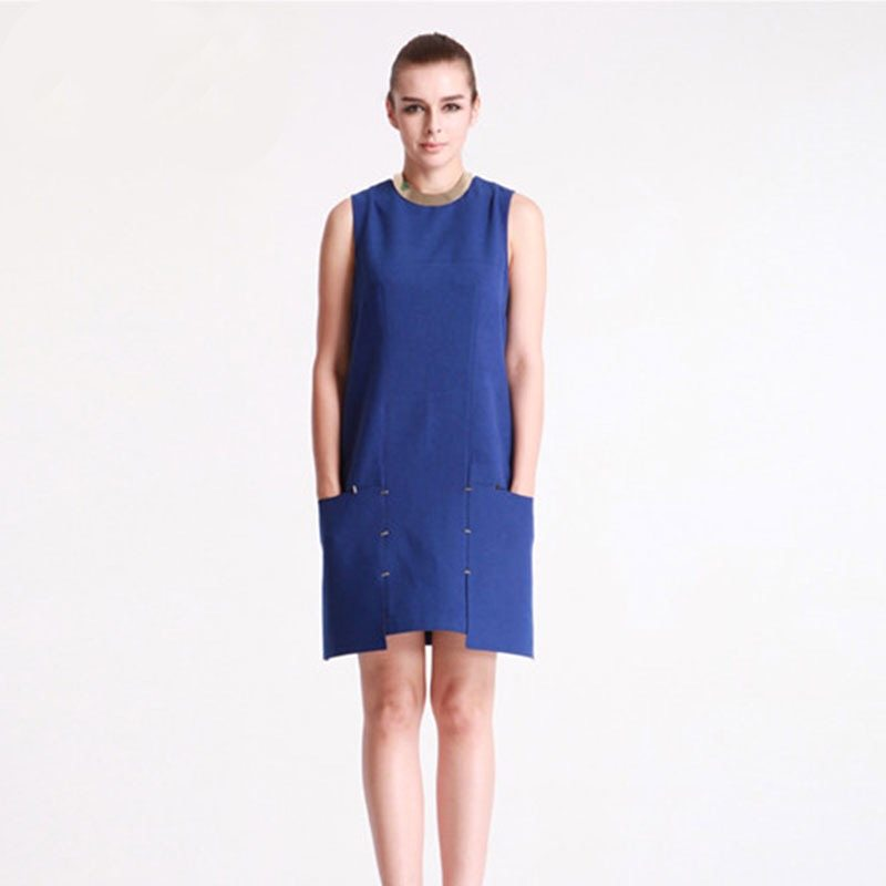 Perfect blue work dress