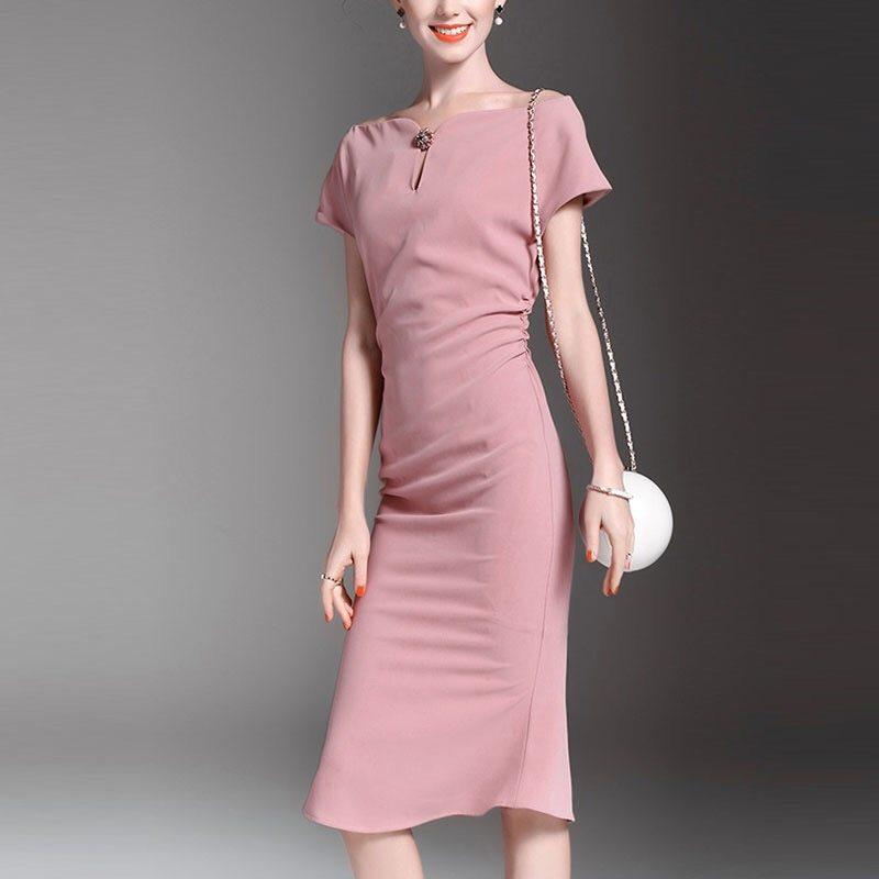 Flawless office dress
