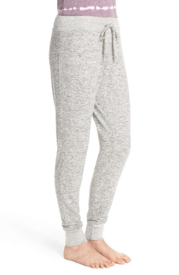 Comfy red striped black joggers