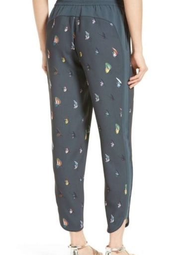 Quirky patterned trousers