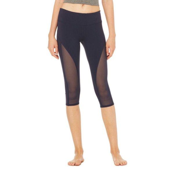 Three quarter length sport leggings
