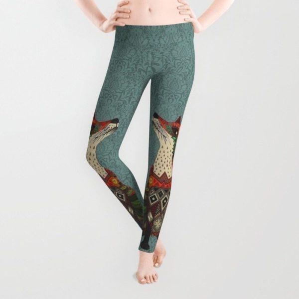 Unique patterned sports leggings