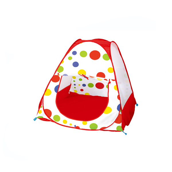 Fun spotted tent