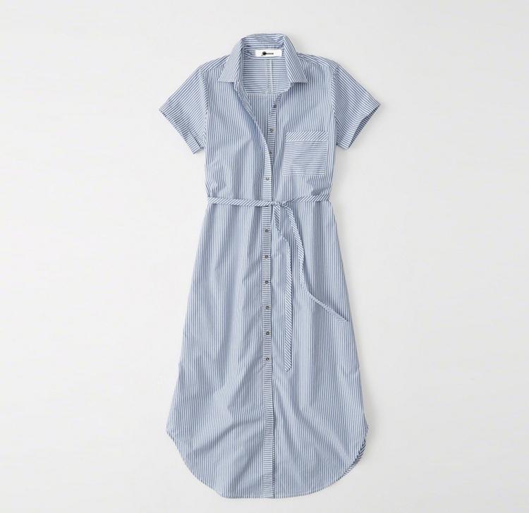 Cute everyday light blue dress